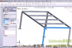 solidworks2012焊件实例