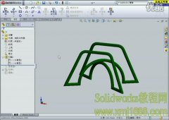 solidworks 3D草图绘制