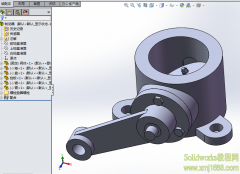solidworks制动器3D模型