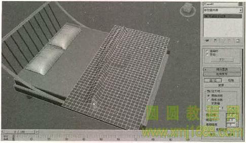 3ds max2015 5.2 床模型的创建
