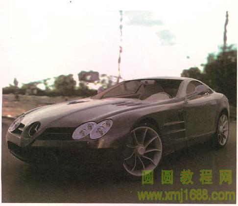 3ds max2015 9.7 奔驰跑车材质制作