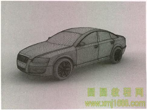 3ds max2015 13.2 制作工业级汽车模型