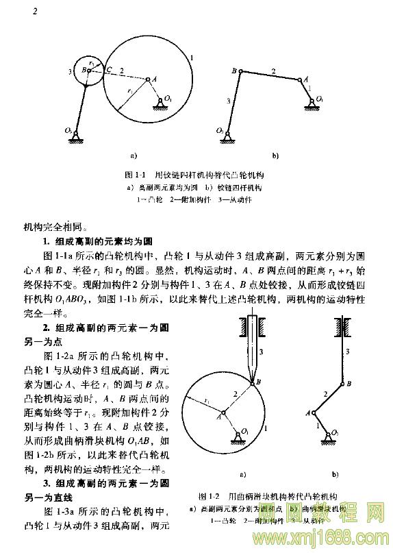连杆机构设计与应用创新 pdf下载 1700图片